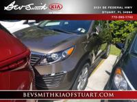 *KIA CERTIFIED*, **CERTIFIED BY CARFAX- NO ACCIDENTS