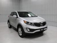 Options:  2013 Kia Sportage Ex|Mineral Silver/Alpine