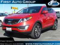 Look at this certified 2013 Kia Sportage EX. Its