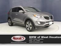 This 2013 Kia Sportage EX has a Certified Clean Carfax,