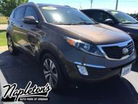 New Price! 2013 Kia Sportage in Sand, Bluetooth, Backup
