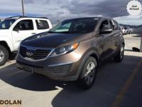 You're going to love the 2013 Kia Sportage! Worthy