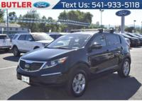 This small suv has a L4, 2.4L high output engine. The