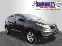 2013 Kia Sportage LX New Price! CARFAX One-Owner. ABS