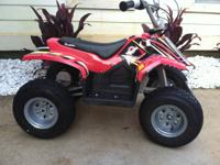 Like new 2013 Kids Electric Quad.  Excellent condition,