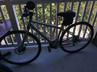 I have a gently used Kona Dew Plus, Silver, in a 49CM