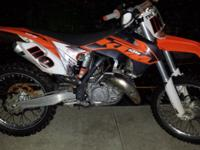 2013 KTM 125 only 30 riding hours, excellent condition.