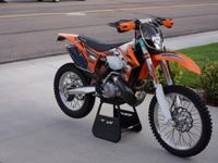 2013 KTM 300 XCW totally set up with great deals of