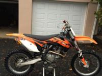 2013 KTM 450SXF bought new November 2013, Factory