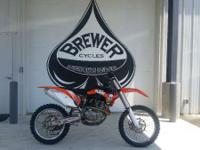 2013 KTM 450 SX-F Come see it at Brewer Cycles or call