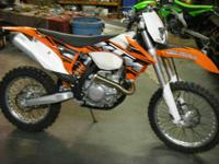 Make: KTM Year: 2013 Condition: Used ALL THE TORQUE & &
