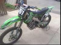 2013 kx250f has pro circuit ti exhaust suspension was