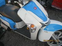 kymco 200cc LX Scooter low miles 1183.Has electric