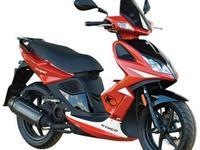 2013 KYMCO SUPER 8 50cc. MOTORBIKE ENDORSEMENT NOT