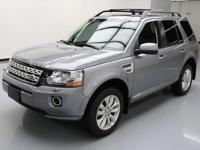 This awesome 2013 Land Rover LR2 4x4 comes loaded with