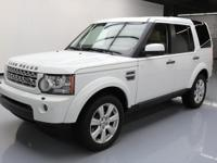2013 Land Rover LR4 with 5.0L V8 Engine,Leather
