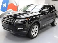 2013 Land Rover Evoque with 2.0L Turbocharged I4 DI