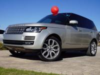 2013 Land Rover Range Rover HSE in Indus Silver