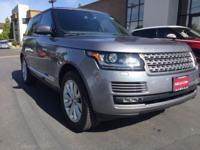 Dont miss this. Californian, 1-Owner Range Rover HSE.