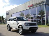 Fuji White 2013 Land Rover Range Rover Sport HSE 4WD