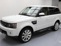2013 Land Rover Range Rover Sport with 5.0L V8