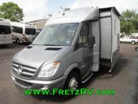 2013 Leisure Travel Unity U24MB Class C Motorhome This
