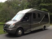 "This unit is the ""Cadillac"" of the little RVs. It is"