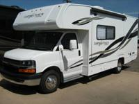 Top of the line Class C motorhome by coachmen. It has a