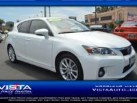 This Lexus CT 200h is CERTIFIED! Low miles for a 2013!