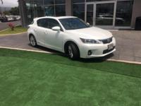 This 2013 Lexus CT 200h Hybrid is offered to you for