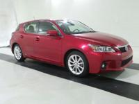 ***LEXUS CERITFIED*** and 2013 Lexus CT 200h. 1.8L