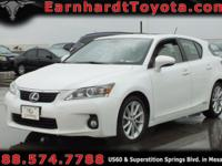 We are delighted to offer you this 2013 Lexus CT200h