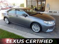 Lexus Certified, Clean, ONLY 26,000 Miles! EPA 31 MPG