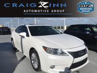 Recent Arrival! White 2013 Lexus ES 350 FWD 6-Speed