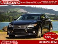 This Amazing Black 2013 Lexus ES 350 Sedan Comes
