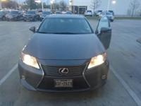 We are excited to offer this 2013 Lexus ES 350. When