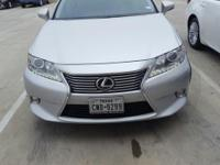 We are excited to offer this 2013 Lexus ES 350. Only