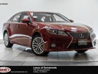 Delivers 31 Highway MPG and 21 City MPG! This Lexus ES
