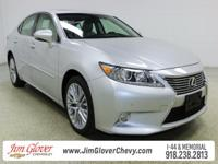 Drive home this 2013 Lexus ES 350 in Silver Lining