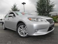 2013 Lexus ES350, One Owner, Purchased Here New, Silver