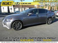 2013 Lexus GS 350 4dr Sdn RWD Sedan F Sport Pkg Premium