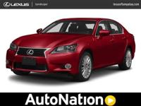 2013 Lexus GS 350 Certified 1 Owner Navigation Leather