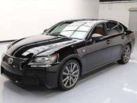 2013 Lexus GS with F-Sport Package,3.5L V6