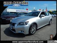 This Lexus GS 350 has a dependable Gas V6 3.5L/211