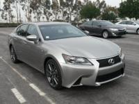 ***LEXUS CERITFIED*** and 2013 Lexus GS 350 F SPORT. F