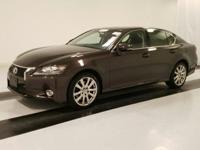 ***LEXUS CERITFIED*** and 2013 Lexus GS 350. Cold