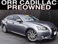 Strolling by this Lexus GS 350 captured my eye in a