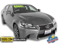 Lexus Certified, CARFAX 1-Owner, GREAT MILES 14,868!
