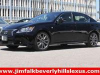 2013 Lexus GS 350, Black, Certified! Navigation/Mark