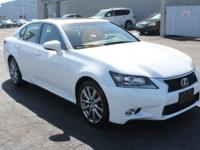 White 2013 Lexus GS 350 AWD 6-Speed Automatic with